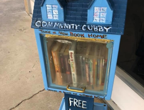 Visit our Little Free Library!